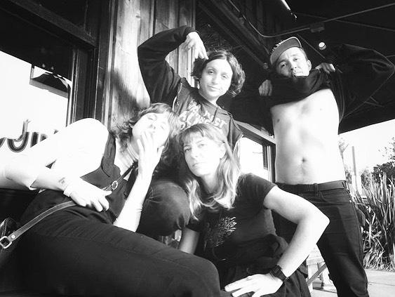 Danielle Davis, Bana Haffar, Basek and Vern photo by Vern